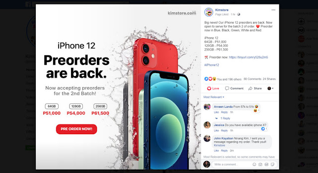 Kimstore Apple iPhone 12 Prices