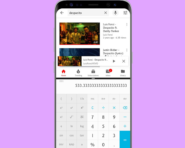 Split Android Screen - hidden android features