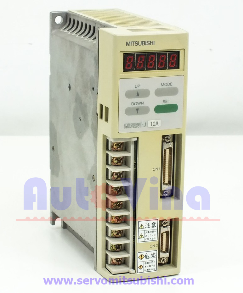 Đại lý bán bộ điều khiển động cơ Servo Amplifier MR-J10A