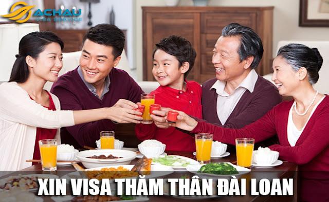 Visa thăm thân Đài Loan: Không còn là khó khăn!