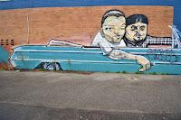 Canberra Street Art | Belconnen mural by John VOIR & Mike Watt