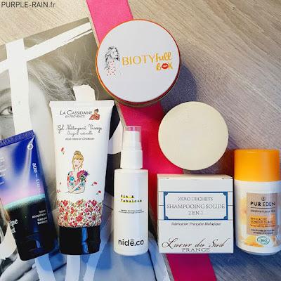 Unboxing - Biotyfull Box : La Sportive Réconfortante