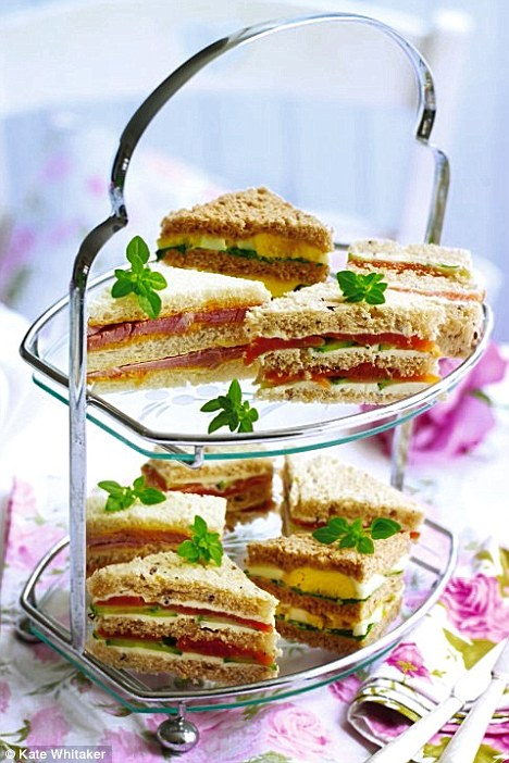 Anyone for tea? Catering: Tea party sandwiches