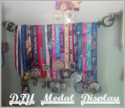 run Disney race medals