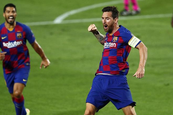 """Messi solo như trò chơi điện tử, biến 5 SAO Napoli thành """"kẻ học việc"""""""