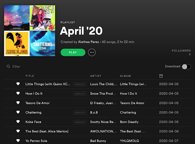 What We Listened to in April 2020