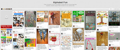 Alphabet fun pinterest board