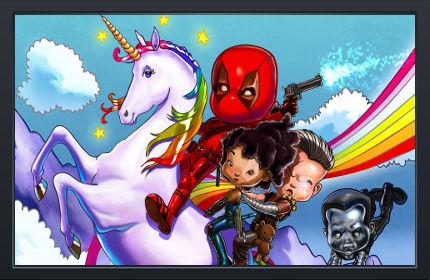 Deadpool Mini Kids - Fond d'Écran en Full HD