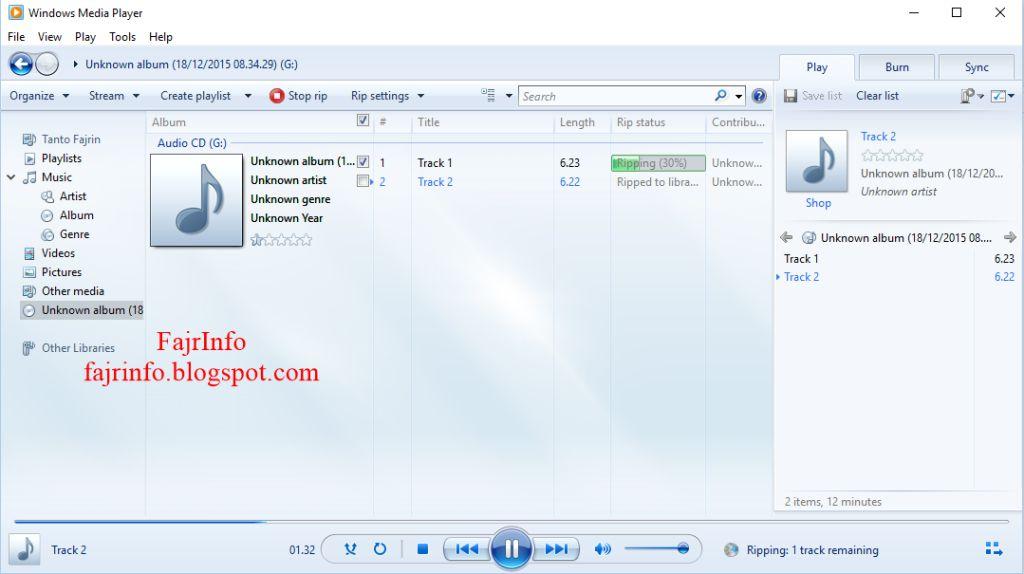 Cara Copy CD Musik Original Dengan Mudah