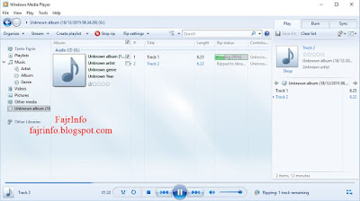 Cara Copy CD Musik Original