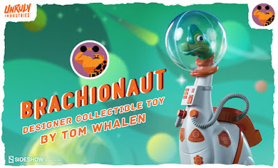 San Diego Comic-Con 2020 First Look: Tom Whalen's New Dinosaur Themed Designer Vinyl Figures by Unruly Industries x Sideshow