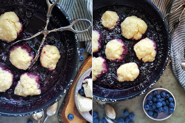 Blueberry Grunt - Kanadisches Dessert