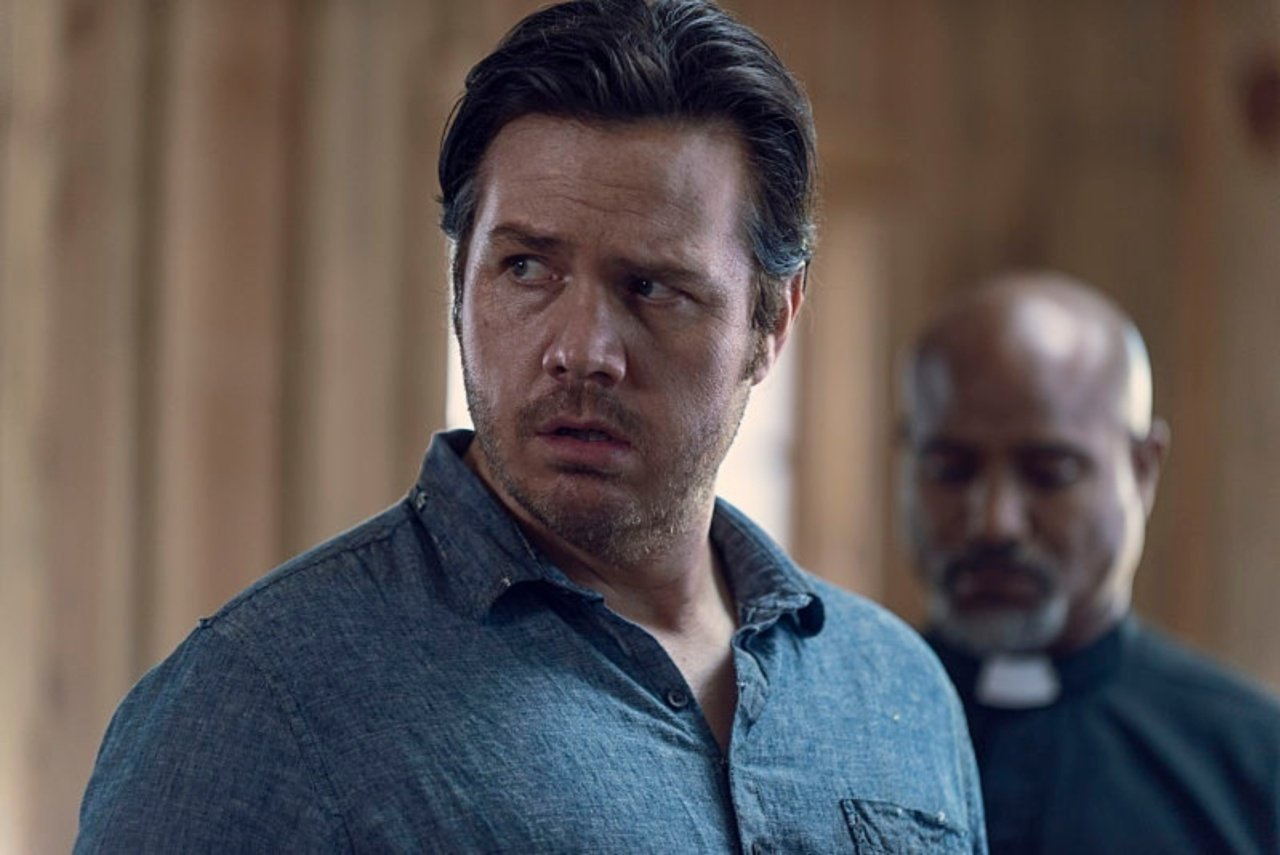 Eugene, en el episodio 9x12 Guardians de The Walking Dead