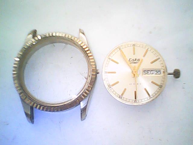 3412a84b823 Relógio Suíço Eska. (manutenção).