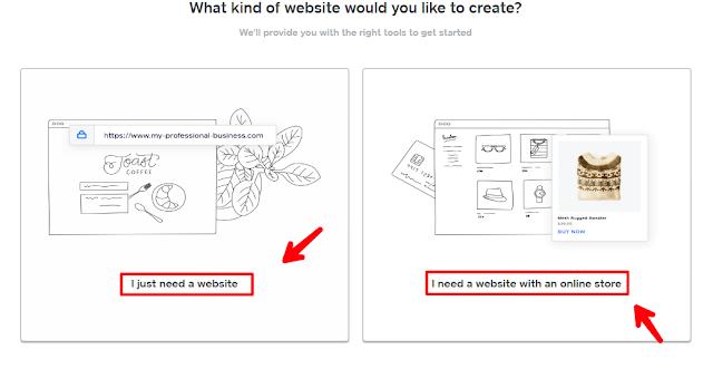 Steps to make a Weebly Website