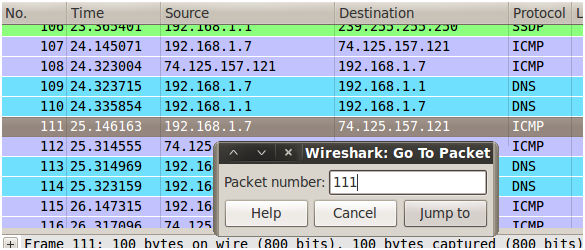 Sniffing con Wireshark 27