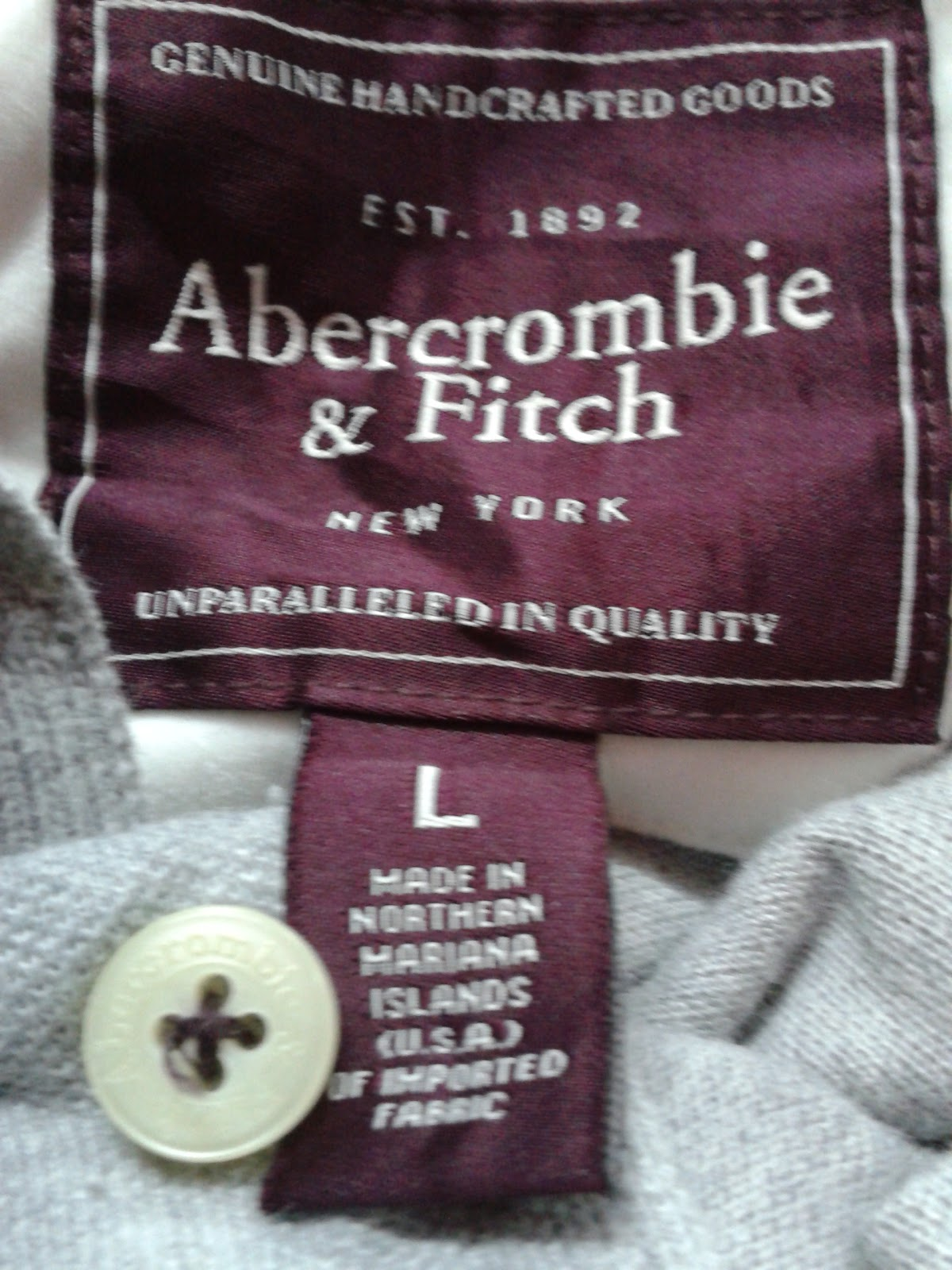 gerobok edniey abercrombie fitch polo shirt made in usa