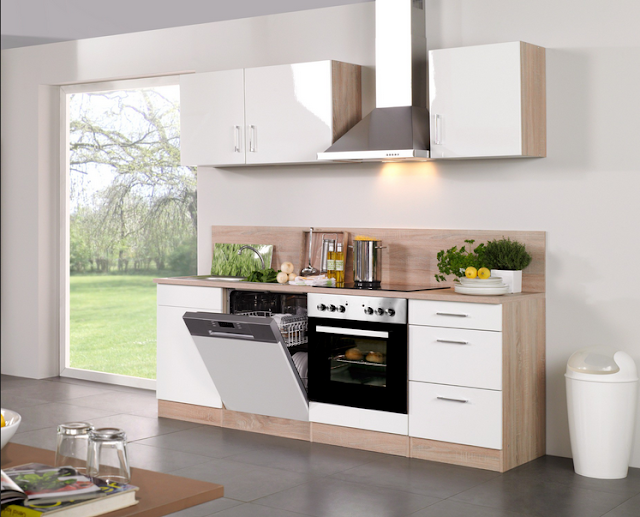 Günstige Küchenzeilen Mit E Geräten