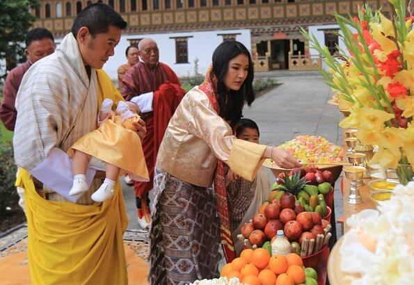King Jigme Khesar Namgyel Wangchuck and Queen Jetsun Pema of Bhutan have announced the name of their second son