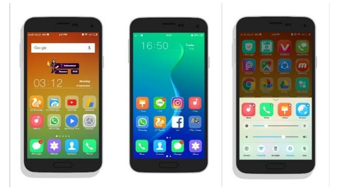 VIVO Phone (FuntouchOS) : Oppo ColorOS Theme - VIVO, OPPO