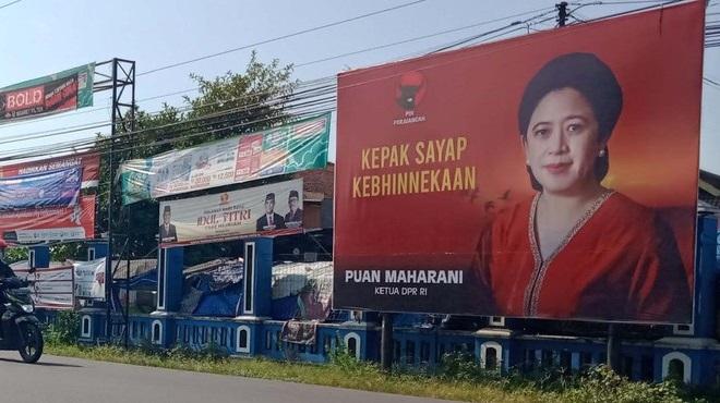 Nah Kan! Sejumlah Baliho Politisi di Klaten Ternyata Tak Kantongi Izin