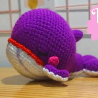 Amigurumi Ballena BTS a Crochet