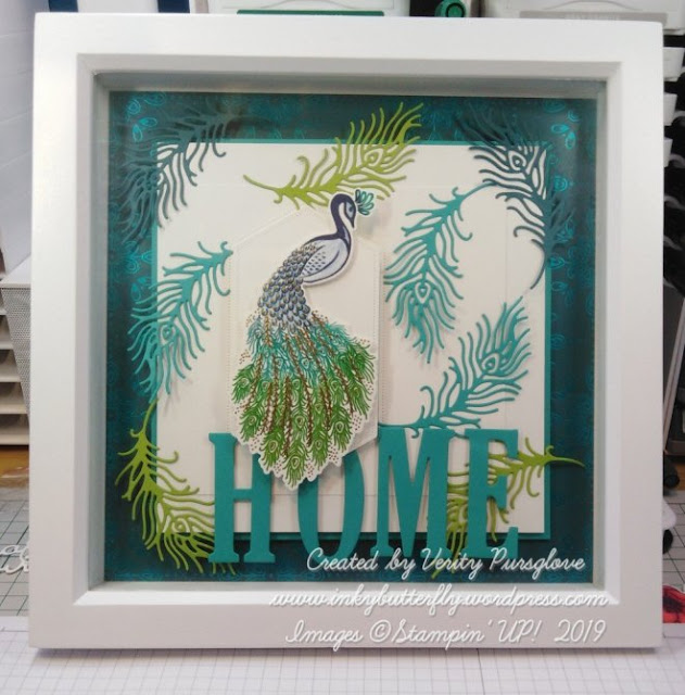 Noble Peacock Stampin Up