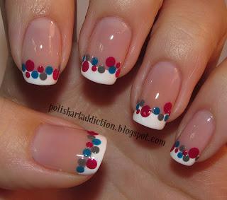 Top All American Patriotic Nail Art Designs