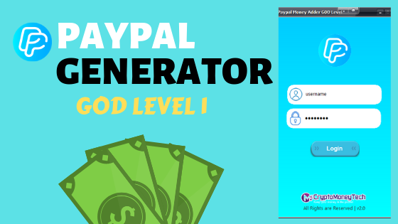 Paypal Money Adder God Level 1 Crypto Money Tech Mining And Money Adders