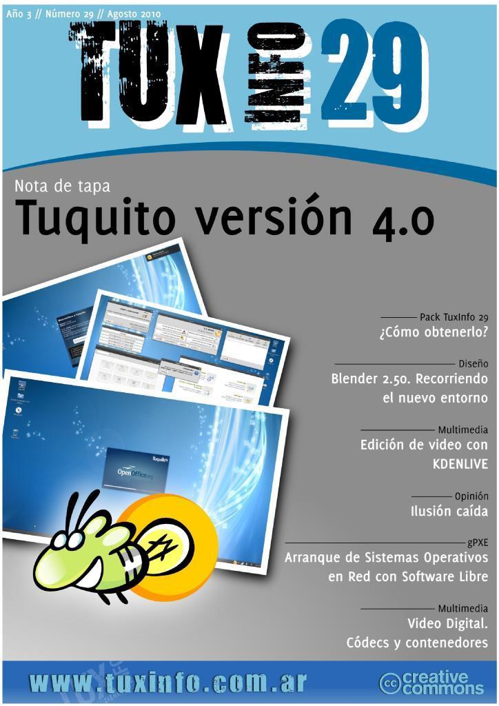 TuxInfo Nro. 29 – Tuquito versión 4.0