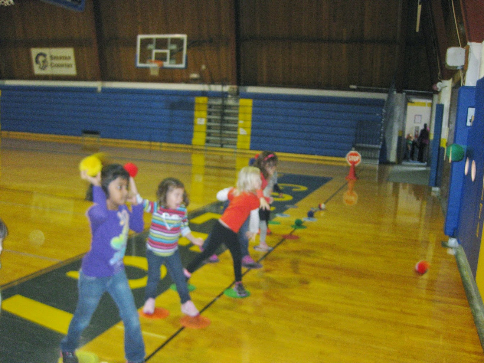 Early Childhood Physical Education Throwing Activities