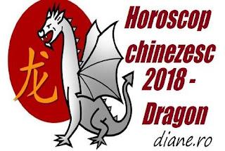 Horoscop chinezesc Dragon 2018