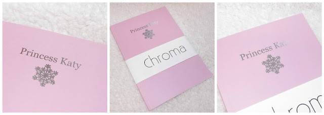 chroma stationery pink notebook