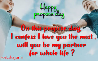 heart touching propose day