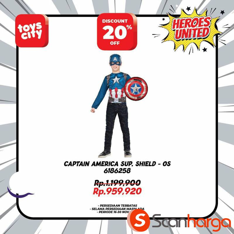 Promo Toys City Fantastic HEROES Collection Special Discount up to 50% 4