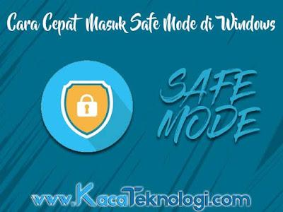 Safe mode Microsoft ciptakan sebagai sebagai sebuah mode yang bertujuan untuk menangani jika terdapat masalah dengan sistem Windows. Sistem yang tidak berjalan normal disarankan untuk menggunakan safe mode ini karena hanya akan menjalankan aplikasi-aplikasi serta driver utama saja. Biasanya penyebab sistem Windows tidak berjalan dengan baik dikarenakan adanya virus, registry yang error, dan tidak lengkapnya sistem utama.