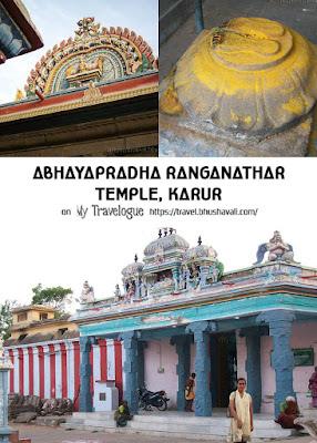 Abhaya Pradhana Ranganathar - Karur Perumal Temple - Pinterest