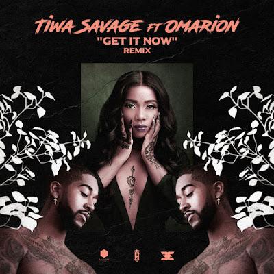 Tiwa Savage ft. Omarion – Get It Now (Remix) |