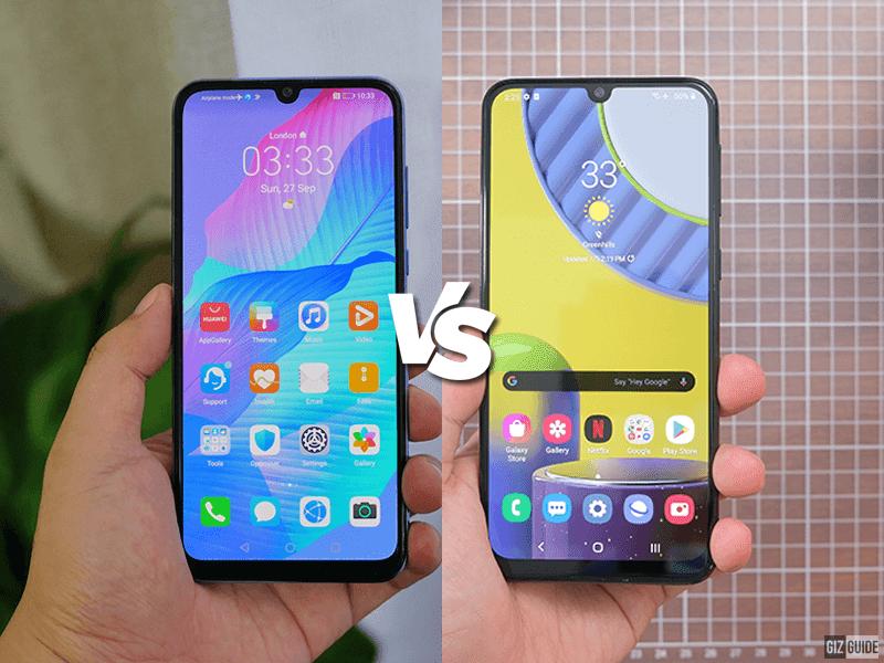 Huawei Y8p vs Samsung Galaxy M31 Specs Comparison