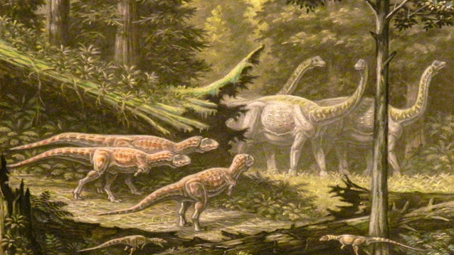 Encuentran en Tailandia fósiles del 'primo' más pequeño del tiranosaurio