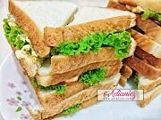 2 idea sandwich yang mudah untuk sarapan pagi | Telur dan Sardin