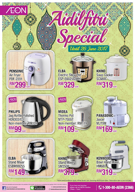 AEON Aidilfitri Special Discount Offer Promotion