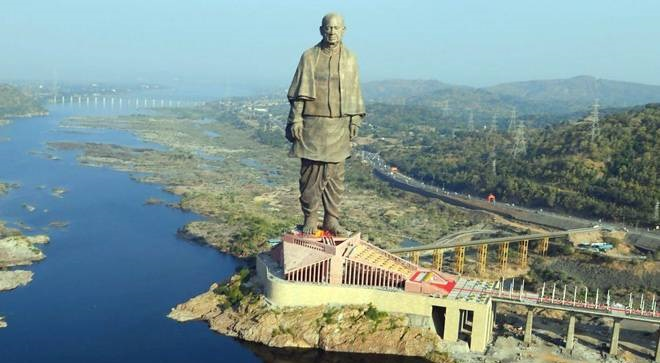 Statue of unity - Cost & height