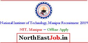 NIT Manipur Interview 2019  ProfessorAssistant Professor Grade-I, II & III [22 Posts]