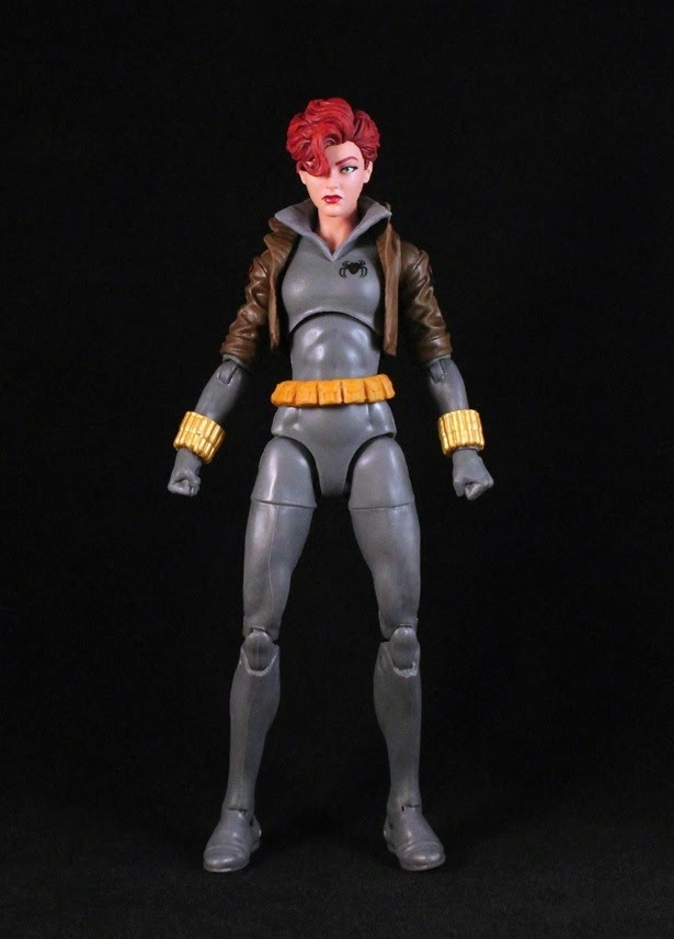 Black Widow Comic Grey Suit Marvel Legends Collectable Figure RARE