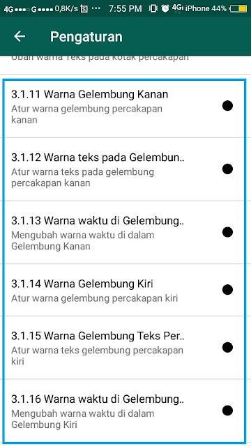 Cara Mengubah Gelembung Whatsapp - 12
