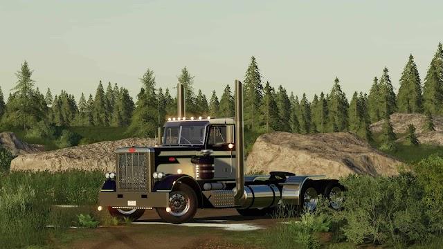 FS19 Peterbilt 359 v3.0