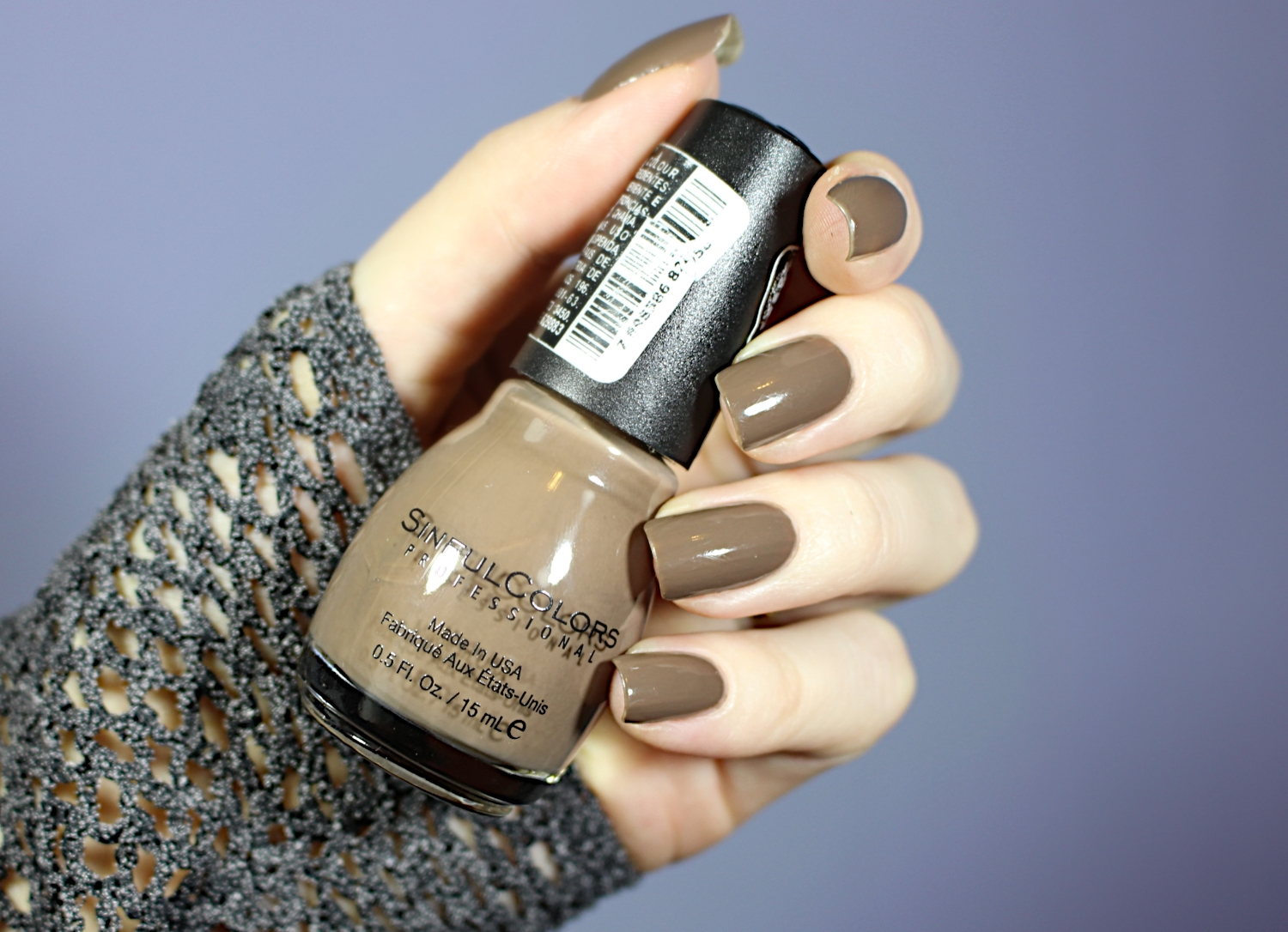 SINFUL COLORS NAIL POLISH IN \'NIRVANA\' AND \'TAUPE IS DOPE\' REVIEW ...
