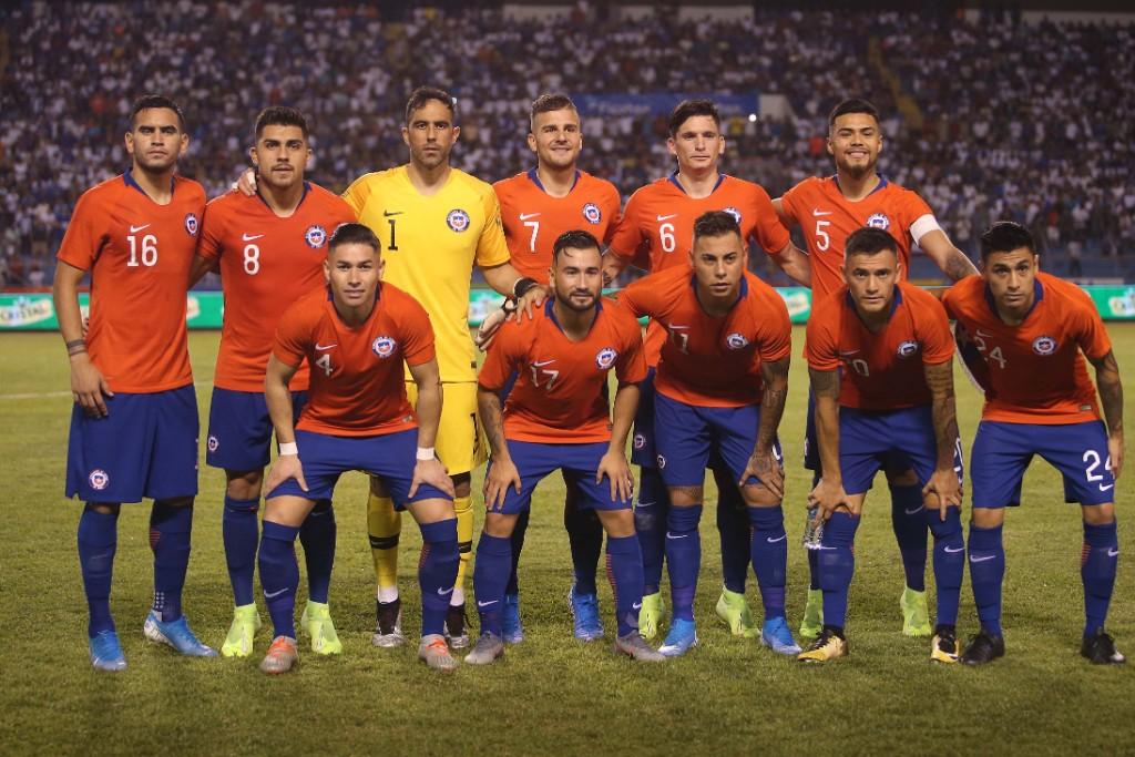 Formación de Chile ante Honduras, amistoso disputado el 10 de septiembre de 2019