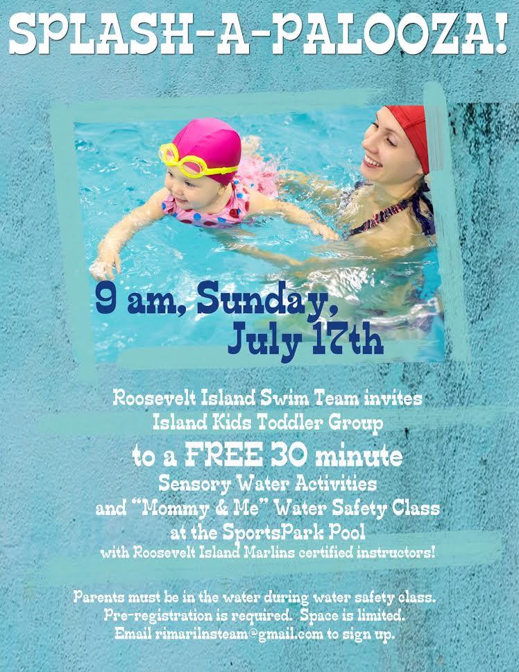 Roosevelt Islander Online Roosevelt Island Marlins Swim Team And Island Kids Team Up For Splash